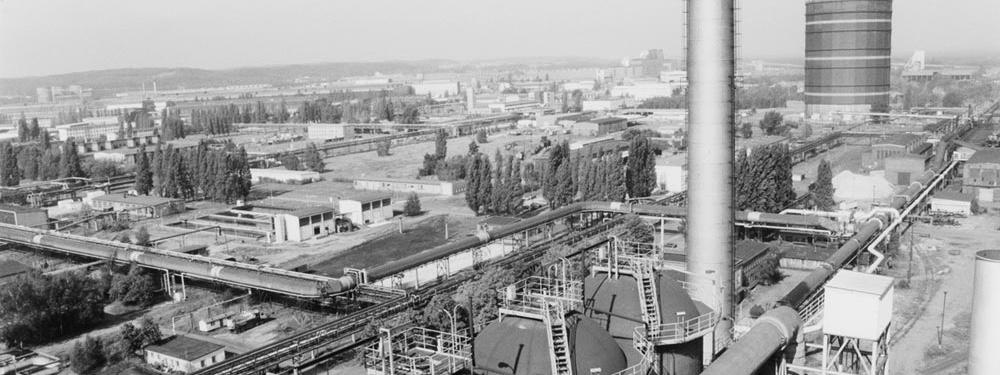Eisenhüttenstadt – Blick auf das Eisenhüttenkombinat Ost (EKO)