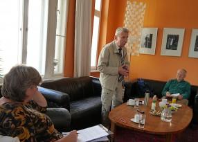 Günter Kretschmer im Erzählsalon