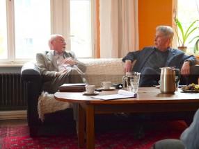 Hubert Maschek (links) und Heinz Dürr