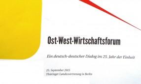 Das Ost-West-Wirtschaftsforum