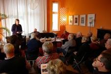 Katrin Rohnstock eröffnet den GD-Salon mit Winfried Noack