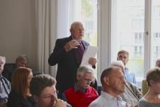 Auch das Publikum legt sein Wissen dar ...