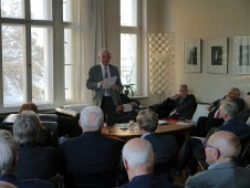 Der Moderator - ein Kenner der Energiewirtschaft der DDR.