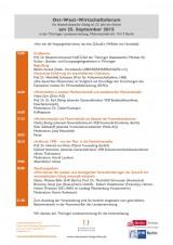 Das Programm vom Ost-West-Wirtschaftsforum