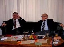 Dr. Hans Sandlaß und Prof. Dr. Wilhelm Riesner