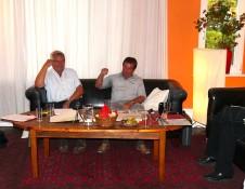 Gerhard Poser und Wolfgang Schmidt erzählen aus ihrem Erfahrungsschatz