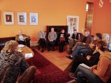 Die Gäste des GD-Salons diskutieren