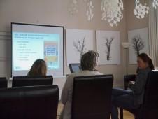 Der sachliche Vortrag lieferte viele interessante Fakten zu der ABF - in der DDR und international.