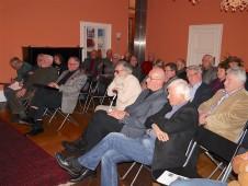 Auch im Publikum saßen einige Wissenschaftler...